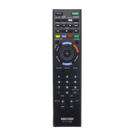 Replacement TV Remote Control for Sony KDL-48W600B Television ()