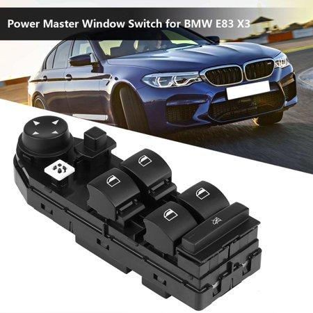 Yosoo Car Vehicle Electric Power Master Window Switch for BMW E83 X3