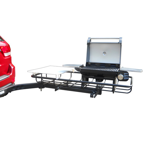 StowAway Hitch Mount Grill for Tailgating and Grilling - ...