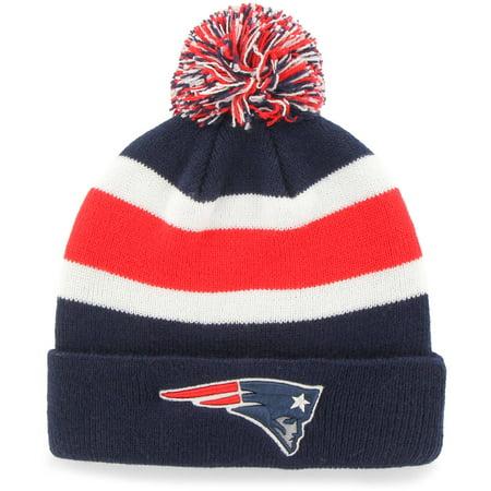 47 Brand  New England Patriots Breakaway Beanie Hat (Toboggan Patriots)