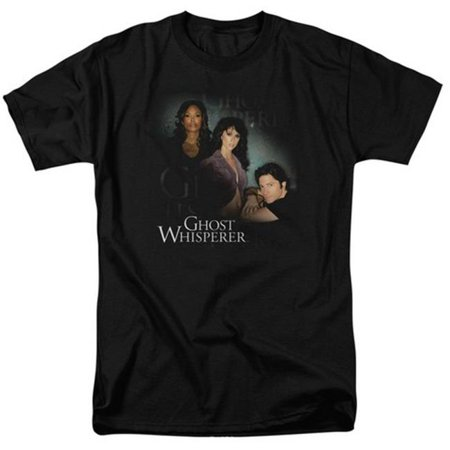 Ghost Whisperer-Diagonal Cast - Short Sleeve Adult 18-1 Tee - Black, 5X - image 1 of 1