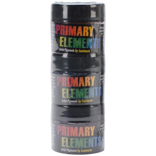 Primary Elements Artist Pigments 10ml 3/Pkg-Basics