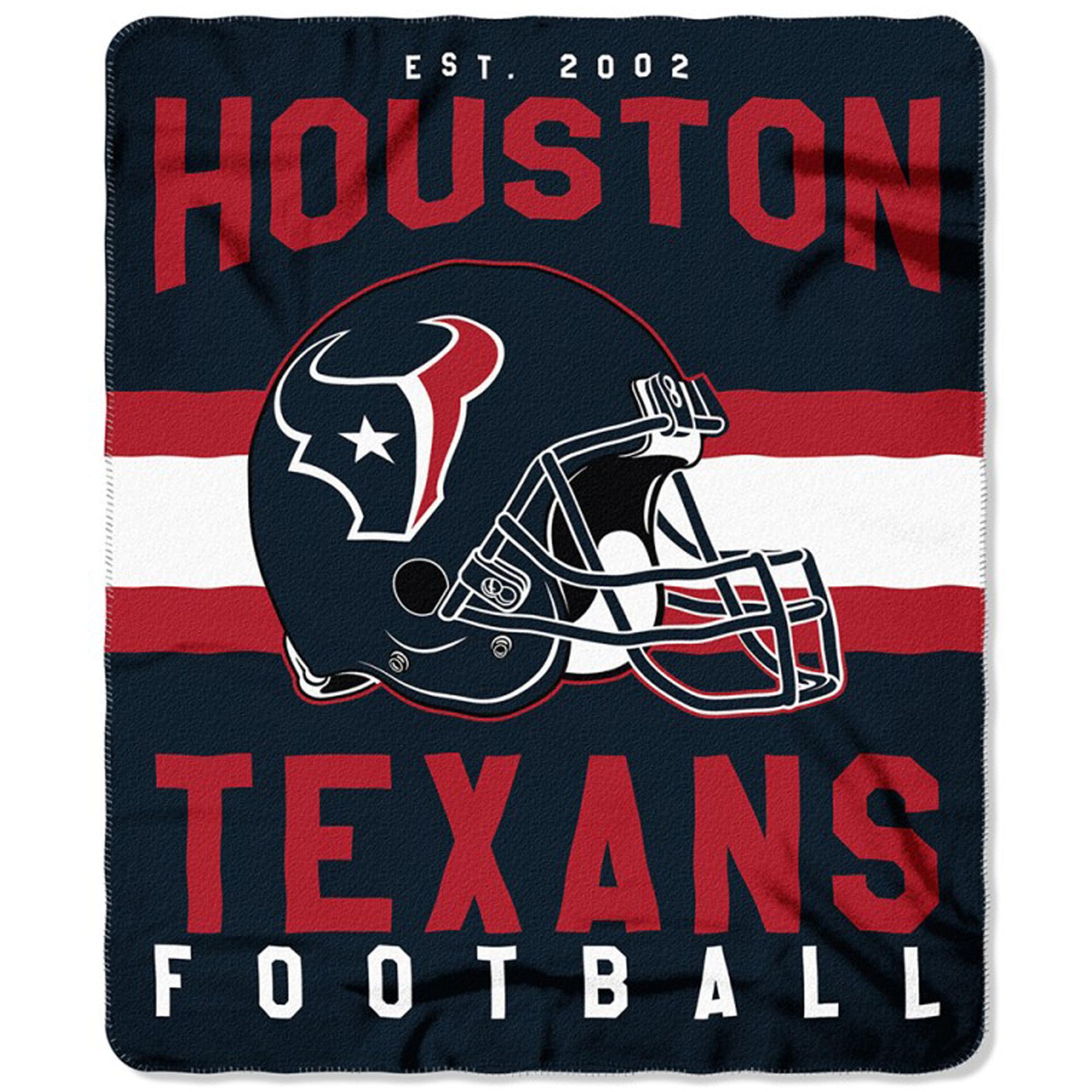 "Houston Texans The Northwest Company 50"" x 60"" Singular Fleece Blanket - No Size"
