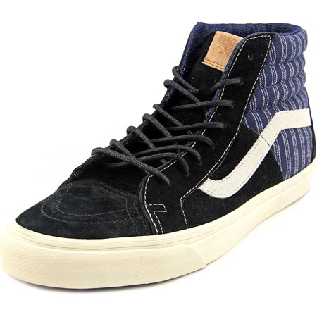 51a5b3d6312f85 VANS - Vans SK8-Hi 46 CA Men Round Toe Suede Black Skate Shoe ...