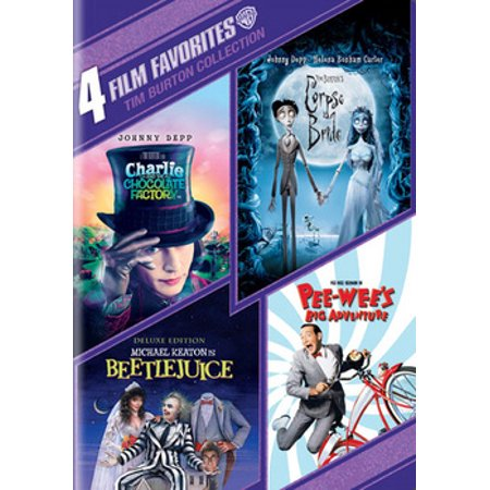 4 Film Favorites: Tim Burton Collection (DVD) - Tim Burton Halloween Party