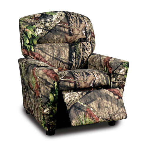 Mossy Oak Kids Cotton Recliner with Cup Holder