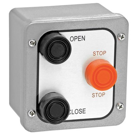 Control Station,3 Buttons,Surface Mount AMERICAN GARAGE DOOR 3BX