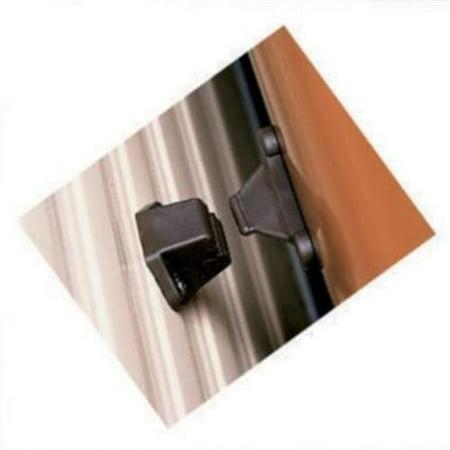 - Topline Mfg T1005-01C Black Polypropylene Plunger Style Baggage Door Hol