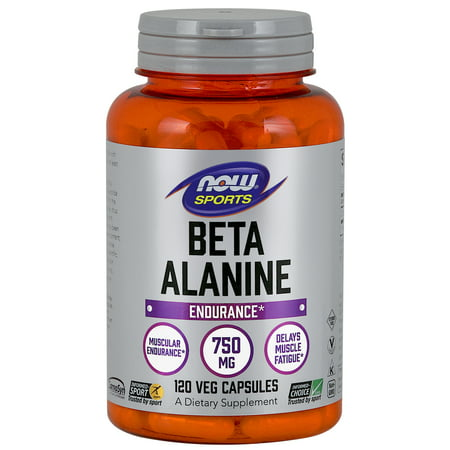 NOW Sports Nutrition, Beta-Alanine 750 mg, 120 Capsules
