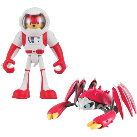 Sonic Boom Small Figure 2Pk  Spacesuit Knuckles And Crabmeat