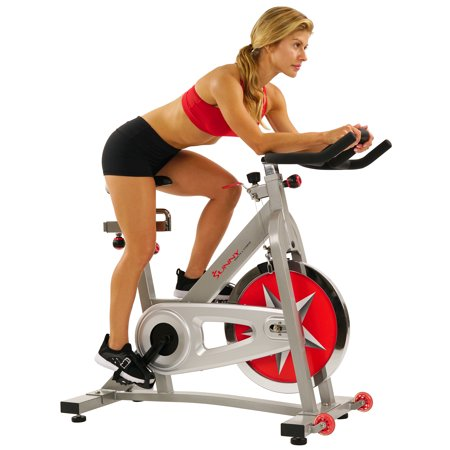 - Sunny Health & Fitness SF-B901 Indoor Cycling Exercise Bike with 40 lb. Flywheel