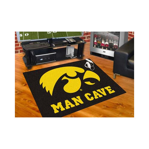 FANMATS NCAA University of Iowa Man Cave All-Star
