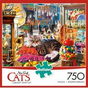 Buffalo - Cats - Curiosity Shop - 750 Piece Jigsaw Puzzle