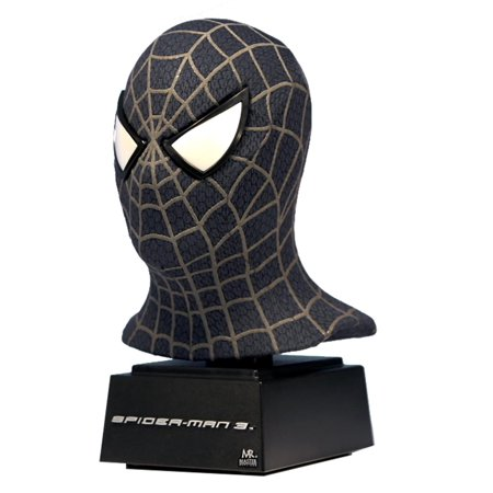Spider-Man 3 Black Suit 5 Inch Scaled Replica Mask