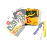 Yellow Chalk - Box of 12 Sticks