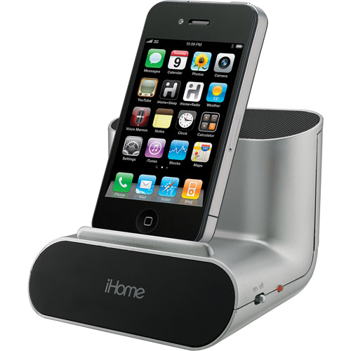 iHome  iHM18 Portable Speaker System for iPad/iPhone/iPod/MP3 Player