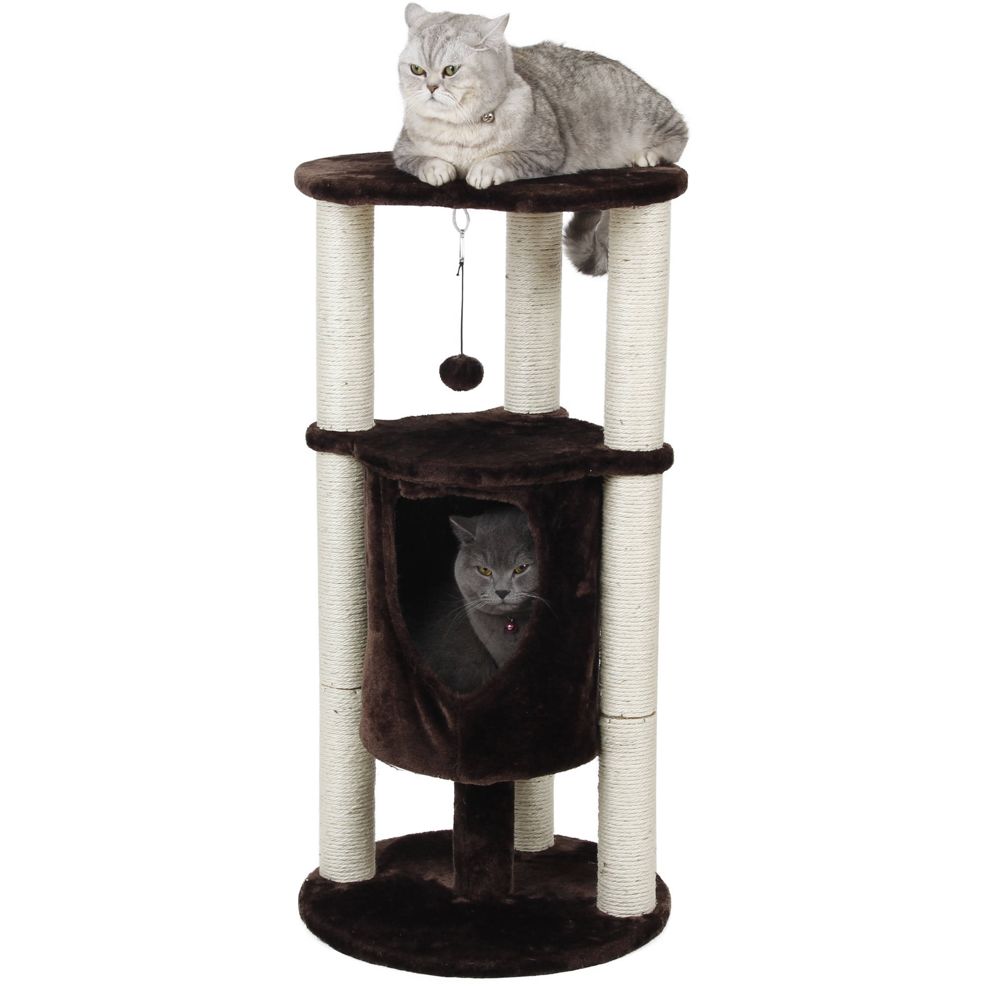 """One Source International 2STR Cat Condo Perch, 36"""" by Overstock"""