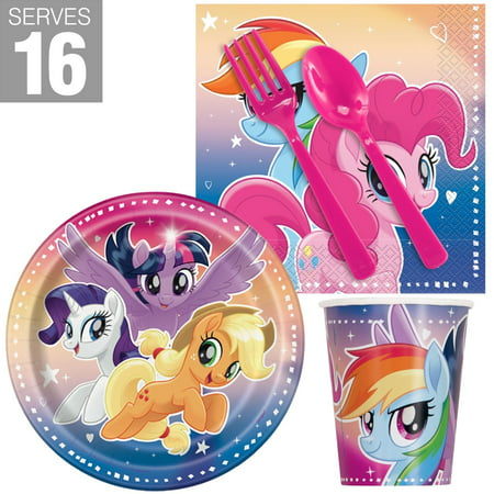 My Little Pony Flying Ponies Snack Party Pack For 16 - My Little Pony Party Tote Bag