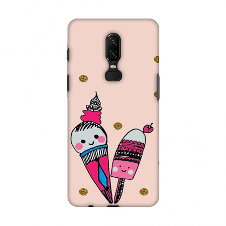 OnePlus 6 Case - Summer blush- Baby pink, Hard Plastic Back Cover, Slim Profile Cute Printed Designer Snap on Case with Screen Cleaning Kit