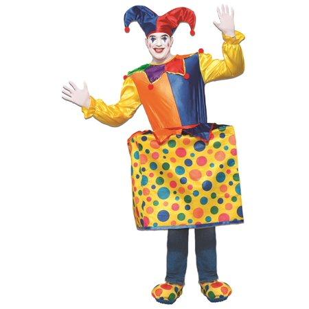 Halloween Surprise (Jack In The Box Adult Deluxe Costume Halloween Surprise Circus Standard)
