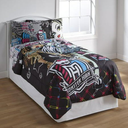 Twin Comforter All Ghouls Allowed, Monster High Bedding Twin