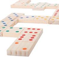 Hey! Play! Giant Wooden Dominoes Indoor & Outdoor Play Set