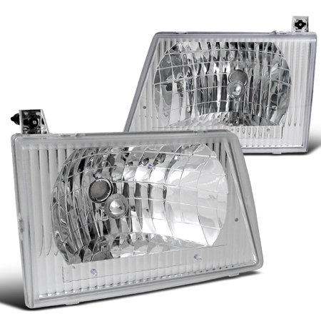 Econoline Van E150 250 350 450 Headlights Lamps