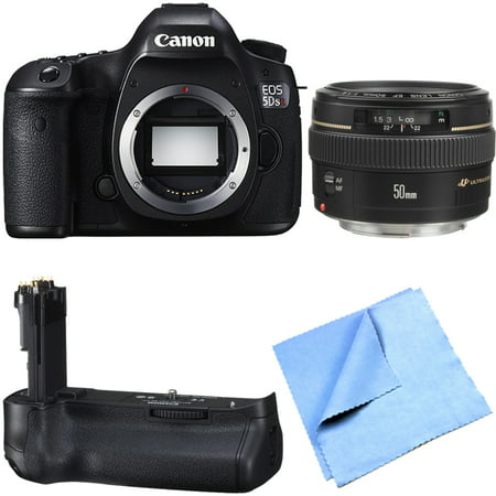 Canon EOS 5DS R 50.6MP Digital SLR Camera Telephoto Lens Bundle
