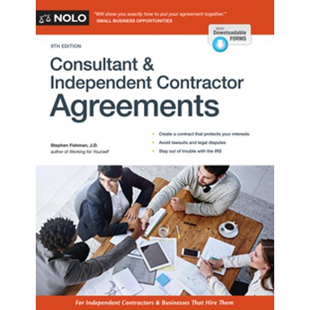 Consultant & Independent Contractor Agreements -