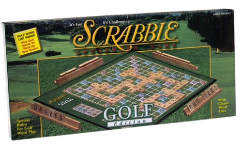 Scrabble Golf Edition, Product Dimensions: 7.5 x 15.8 x 1.5 inches ; 1.6 pounds By Hasbro... by