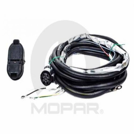 mopar 82212196ab trailer tow wiring harness dodge durango. Black Bedroom Furniture Sets. Home Design Ideas