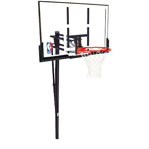 "Spalding 88307PR 52"" Acrylic In-Ground Basketball System"