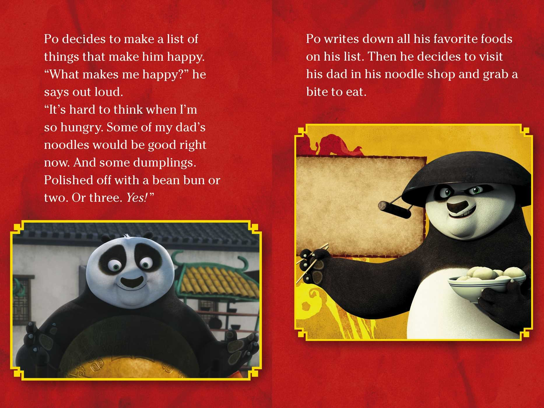 thankfulness is awesomeness part of kung fu panda tv by tina gallo