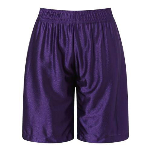 Richie House Little Boys Purple Leisure Classic Smooth Sports Shorts 6/7