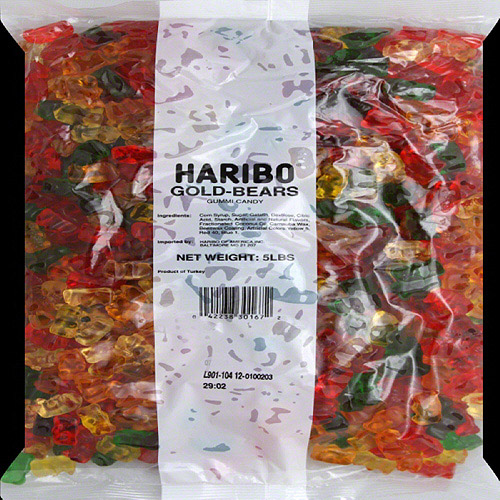 Haribo Gold-Bears Gummi Candy, 5 lbs by Haribo