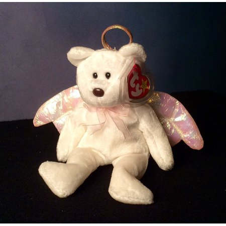 1 X Halo the White Angel Bear - MWMT Ty Beanie BabiesNew out of Ty  manufacturer s package By Beanie Babies Teddy Bears - Walmart.com 23ccf70a4dae