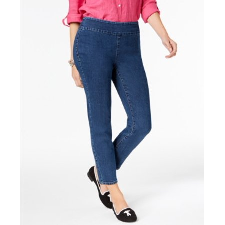 Charter Club  Melrose Wash Women's Pull On Jeans Size