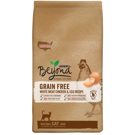 Purina Beyond Grain Free White Meat Chicken   Egg Recipe Dry Cat Food  3 Lb