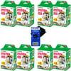 Fujifilm Instax Mini Twin Pack Instant Film - 8 pack (160 sheets) for Fujifilm Instax Mini 7s, Mini 8, Mini 25, Mini 50S