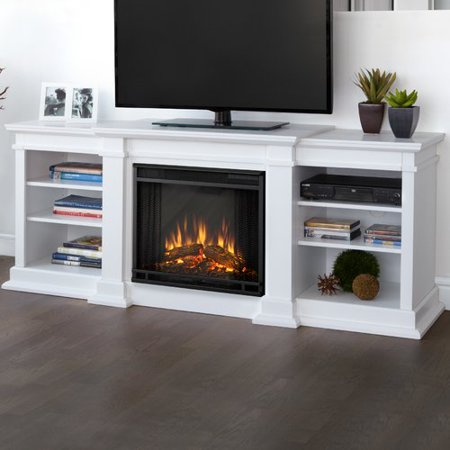 Real Flame Fresno 72 39 39 Tv Stand With Fireplace