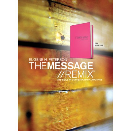 The Message//REMIX (Vinyl, Pink) : The Bible in Contemporary Language (Vinyl Bible Case)