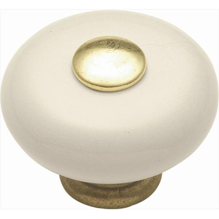 Hickory Hardware P222-LAD 1.25 In. Tranquility Light Almond Cabinet Knob