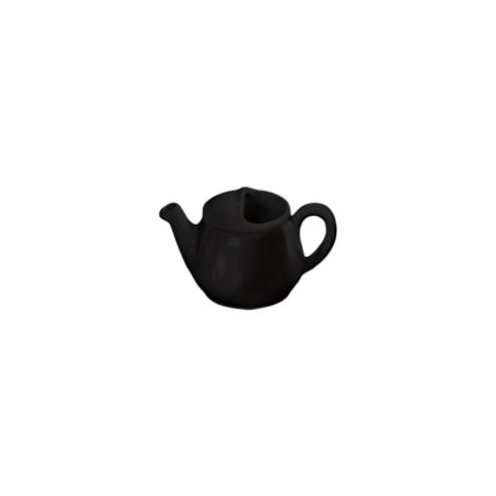 English Teapot - Diversified Ceramics DC182-BK Black 16 Oz. English Teapot - 12 / CS