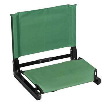 Wide Stadium Chair-Color:Forest Green