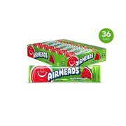 Airheads Candy, Individually Wrapped Bars, Watermelon, Valentines Day Gifts, Non Melting, Party, 0.55 Ounce (Pack of 36)