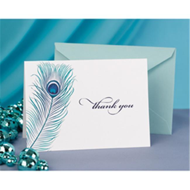 Hortense B.  Hewitt 11105 Peacock Feather Thank You