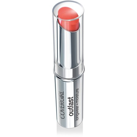COVERGIRL Outlast Longwear Lipstick, Red Siren, 0.13 Oz