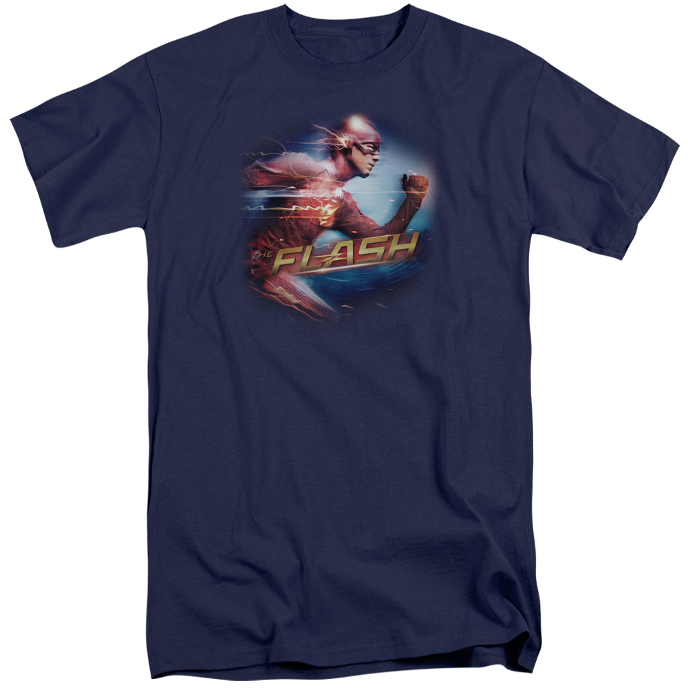 The Flash Fastest Man Mens Big and Tall Shirt