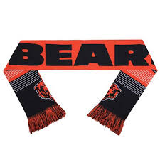 NFL Forever Collectibles Reversible Split Logo Scarf, Chicago Bears