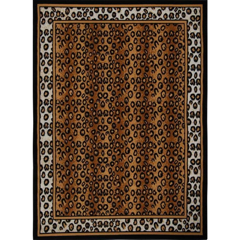 Home Dynamix  Zone Collection Transitional Black Area Rug - 3'6 x 5'6